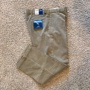Dockers Corduroy Flat Front Relaxed Fit Pants